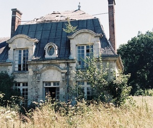 house, vintage, and old image