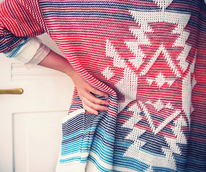 aztec, pretty, and colours image