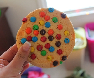 cookie, chocolate, and food image