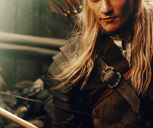 Hot, lord of the rings, and legolas greenleaf image