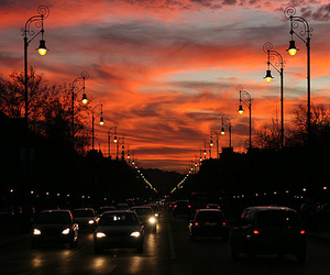 cars, sky, and beautiful image