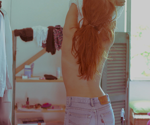 girl, photography, and jeans image