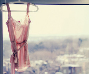 pink, window, and clothes image
