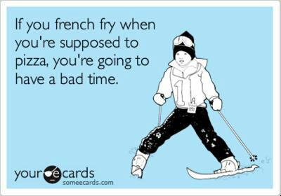 funny, Skiing, and love image