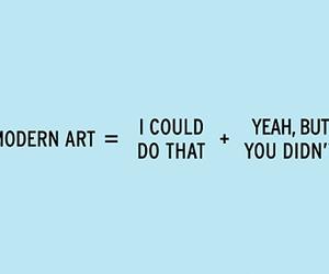art, modern art, and funny image