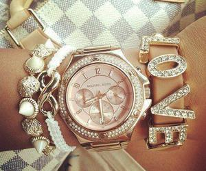 love, watch, and bracelet image