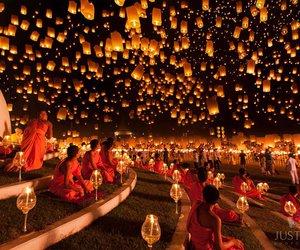 light, thailand, and lantern image