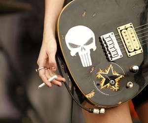 guitar, Taylor Momsen, and rock image
