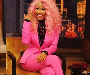 nicki minaj, pink, and hair image