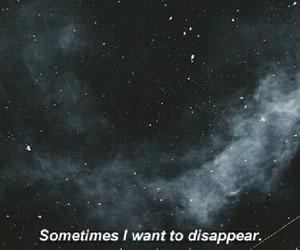 stars, dark, and sad image