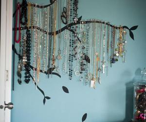 tree, necklace, and diy image