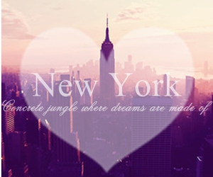 dreams and new york image