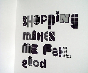 message, shopaholic, and shopping image