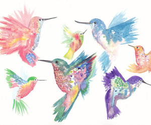 bird, art, and pretty image