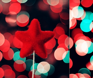 red and star image