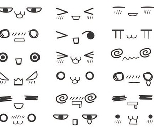 kawaii, face, and anime image