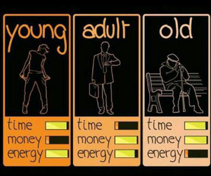 young, old, and Adult image