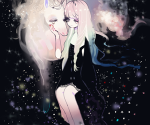 unicorn, cute, and anime image
