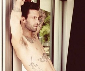 handsome, adam levine, and man image