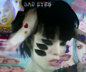 Alice Glass, Crystal Castles, and sad eyes image