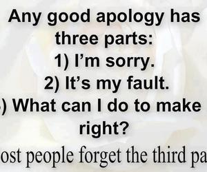 quote, apology, and true image