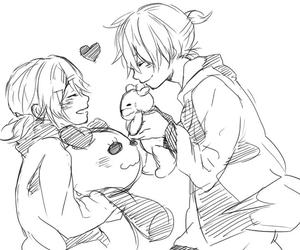 couple, vocaloid, and cute image
