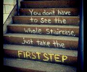 quotes, life, and step image
