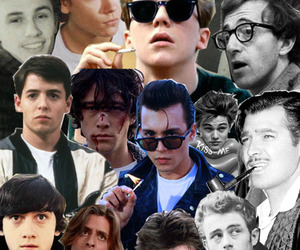 boy, Collage, and johnny depp image