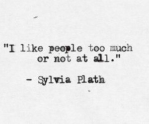 quotes, people, and sylvia plath image