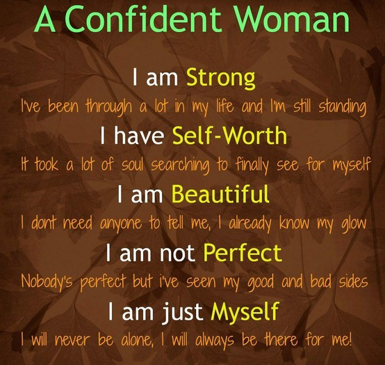 Life quotes / A confident woman! on We Heart It