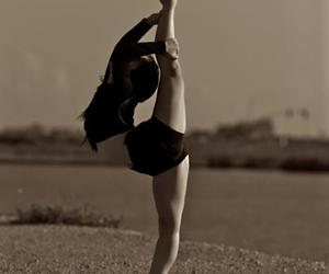 girl, ballerina, and ballet image