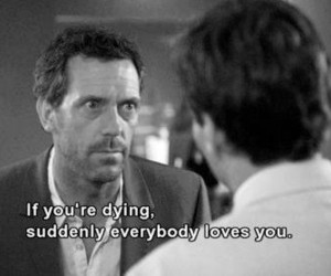 quote, dr house, and house image