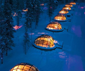 finland, igloo, and travel image