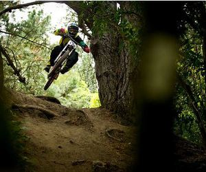 bicycle, downhill, and freeride image