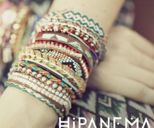 bracelet, hipanema, and summer image