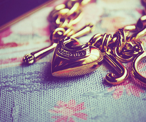 heart, bracelet, and juicy couture image