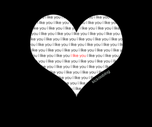 heart, like you, and text image