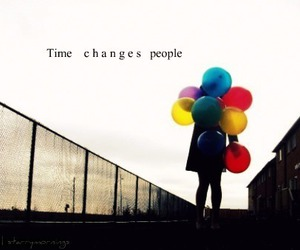 change, balloons, and text image