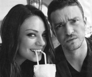 justin timberlake, Mila Kunis, and couple image