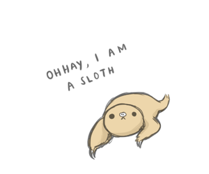 sloth, cute, and transparent image
