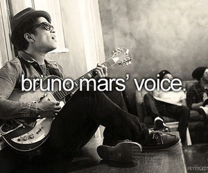 bruno mars, voice, and music image