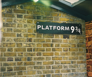 harry potter, platform, and photography image