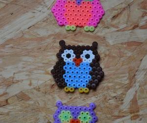 diy, neon, and owl image