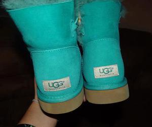 ugg, blue, and uggs image