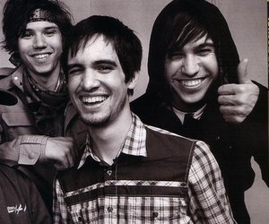 brendon urie, old, and pete wentz image