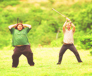 Dominic Monaghan, Jorge Garcia, and charlie pace image