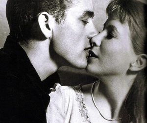 james dean, kiss, and couple image