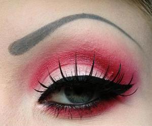 eyebrow, beautiful, and beauty image
