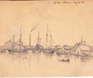 maritimes, port elgin nb, and fred munro image