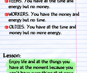 life, quote, and lesson image